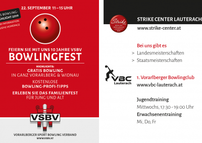Bowlingfest 2019 in Lauterach