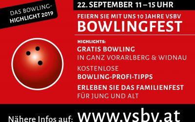 Einladung zum Bowlingfest! – 22.09. von 11 – 15 Uhr
