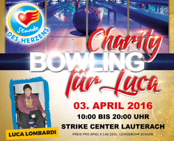 Charity Bowling - Stunde des Herzens